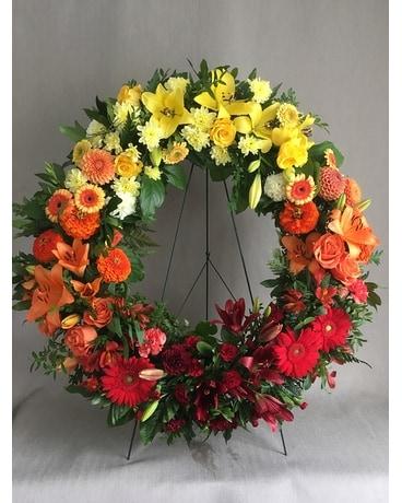 Ombre Tribute Wreath
